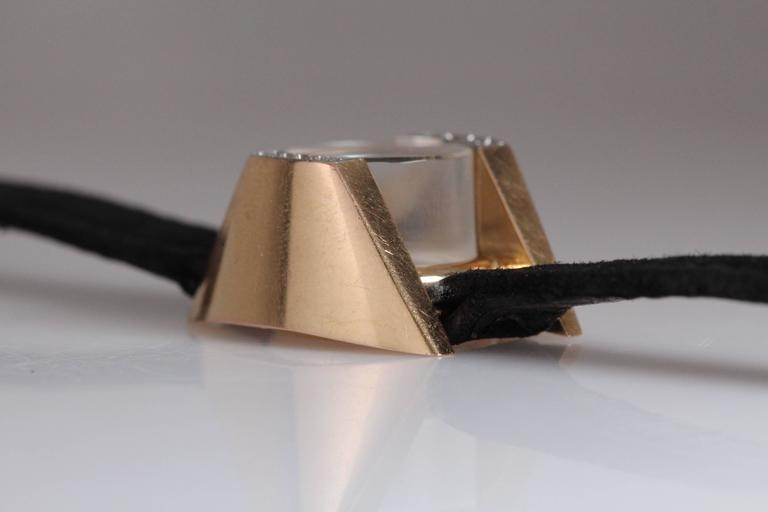 Universal Geneve Ladies Yellow Gold Diamond Wristwatch 8