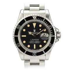Rolex Stainless Steel Submariner Date Wristwatch Ref 1680