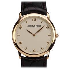 Audemars Piguet Rose Gold Calatrava Wristwatch