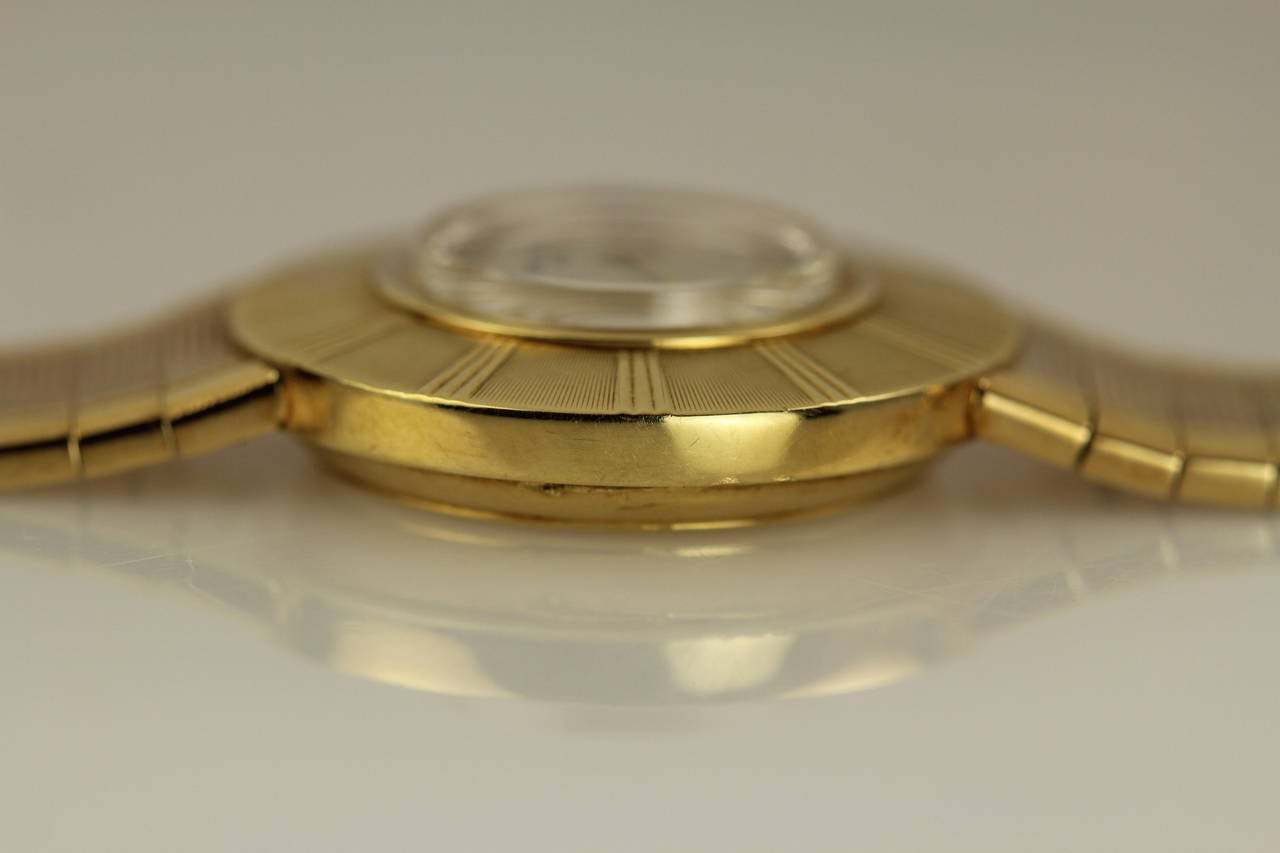 Patek Philippe & Co. Lady's Yellow Gold Wristwatch Ref 3246 In Excellent Condition For Sale In Miami Beach, FL