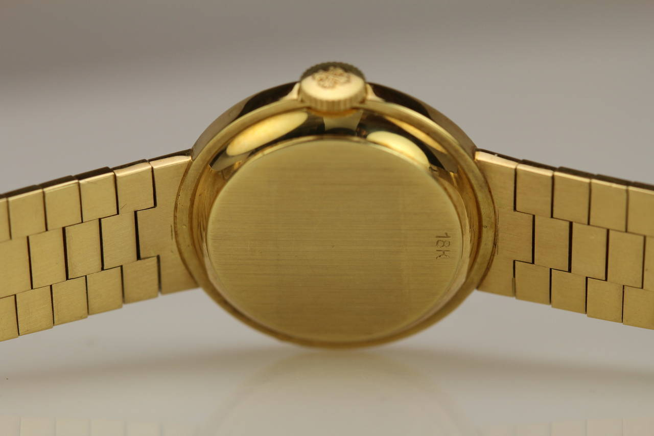 Women's Patek Philippe & Co. Lady's Yellow Gold Wristwatch Ref 3246 For Sale