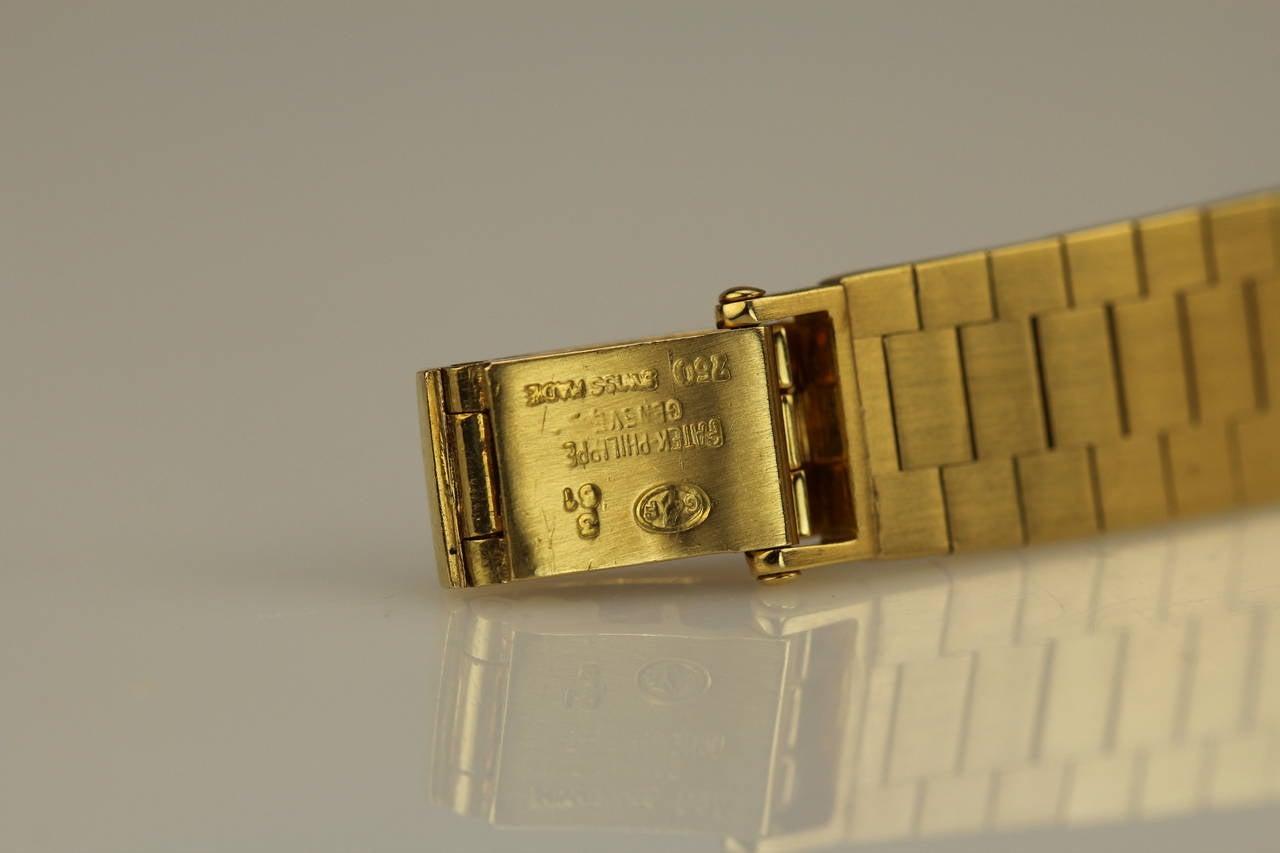 Patek Philippe & Co. Lady's Yellow Gold Wristwatch Ref 3246 5