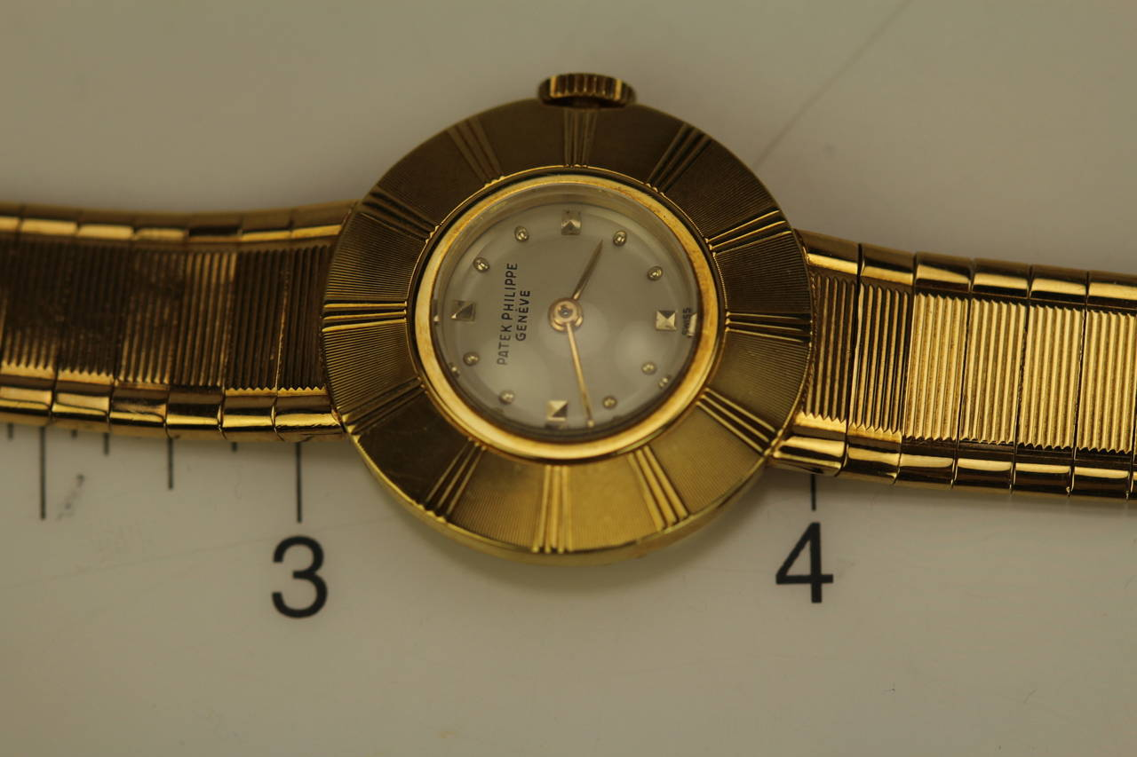 Patek Philippe & Co. Lady's Yellow Gold Wristwatch Ref 3246 For Sale 4