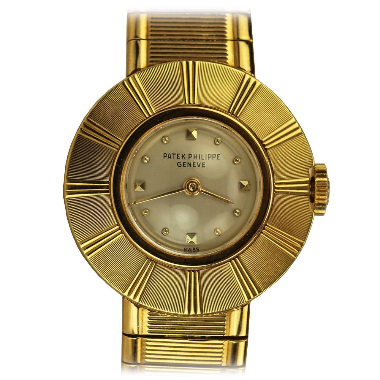 Patek Philippe & Co. Lady's Yellow Gold Wristwatch Ref 3246