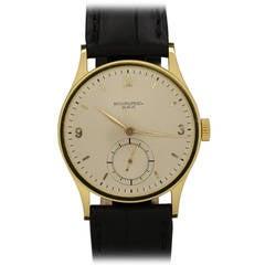 Patek Philippe Yellow Gold Calatrava Wristwatch Ref 570