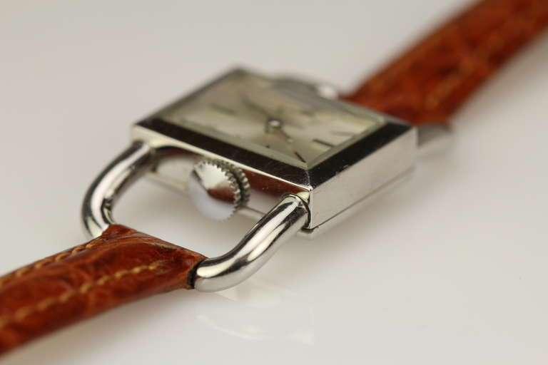 JAEGER-LECOULTRE for Hermes Paris in Stainless Steel 6