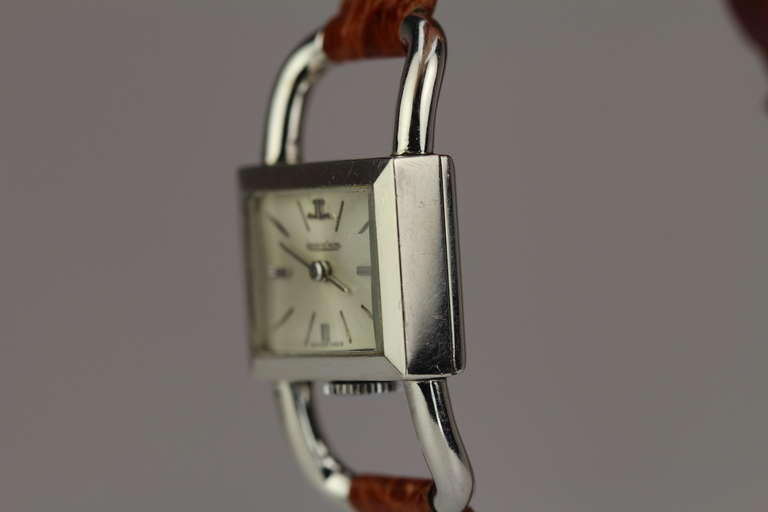 JAEGER-LECOULTRE for Hermes Paris in Stainless Steel 2