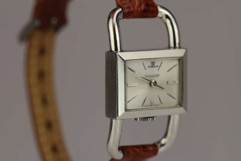 JAEGER-LECOULTRE for Hermes Paris in Stainless Steel 3