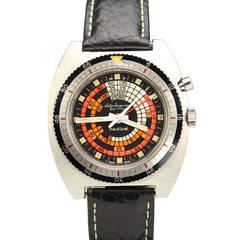 Jules Jurgensen Stainless Steel Nautical Wristwatch