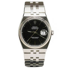 Rolex Stainless Steel Oysterquartz Datejust Wristwatch