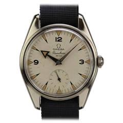 Omega Stainless Steel Ranchero Wristwatch circa 1960s