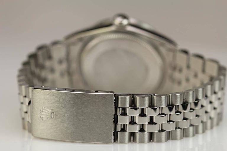 Rolex Stainless Steel Date Wristwatch Ref 1501 circa 1967 For Sale 3