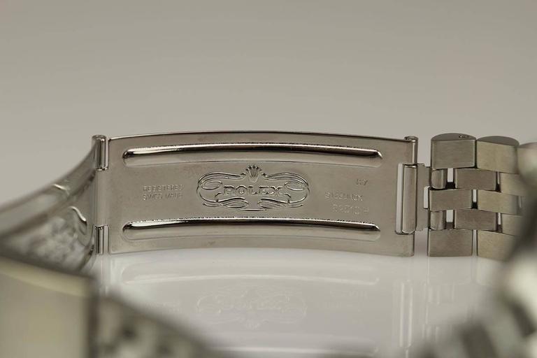 Rolex Stainless Steel Date Wristwatch Ref 1501 circa 1967 For Sale 1