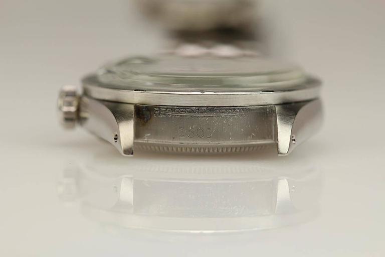 Men's Rolex Stainless Steel Date Wristwatch Ref 1501 circa 1967 For Sale