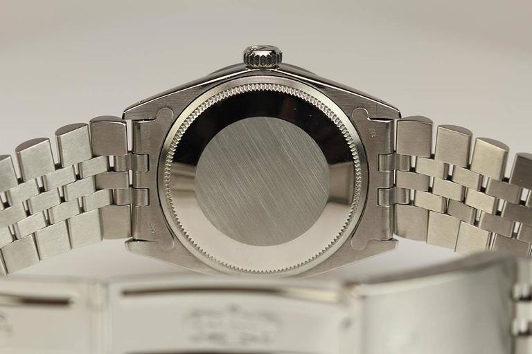 Rolex Stainless Steel Date Wristwatch Ref 1501 circa 1967 For Sale 2