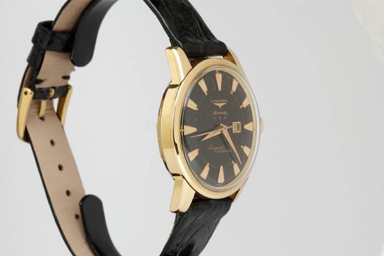 Longines Yellow Gold Conquest Calendar Wristwatch 4