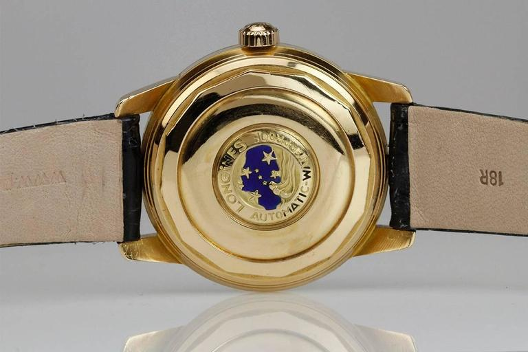 Longines Yellow Gold Conquest Calendar Wristwatch 5