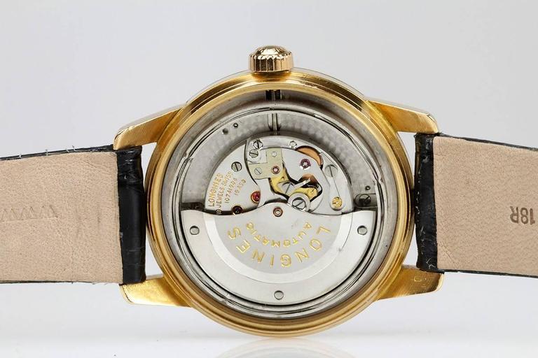 Longines Yellow Gold Conquest Calendar Wristwatch 6