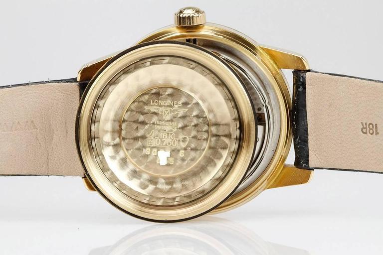 Longines Yellow Gold Conquest Calendar Wristwatch 7