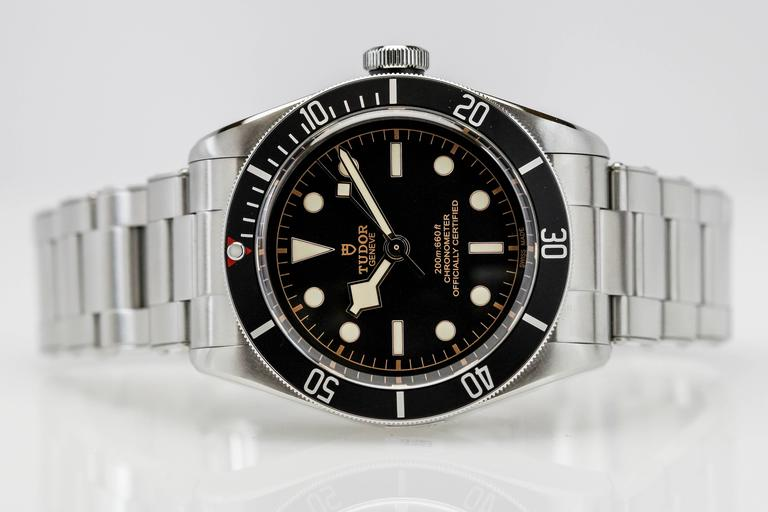 Tudor stainless steel heritage black bay dive automatic - Tudor dive watch price ...