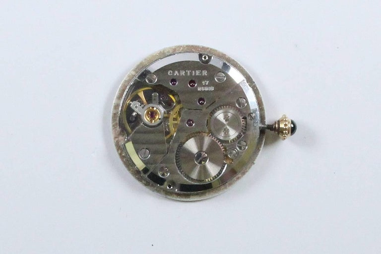 Cartier Yellow Gold Manual Wind Wristwatch, circa 1980s 5