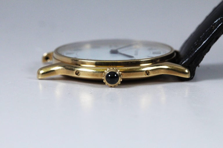 Cartier Yellow Gold Manual Wind Wristwatch, circa 1980s 9