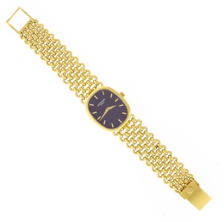 Patek Philippe Ladies yellow gold Golden Ellipse Manual winding Wristwatch