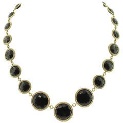 Ippolita Lollipop Drama Diamond Gold Necklace