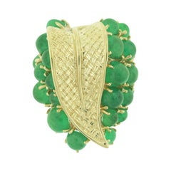 Ruser Gold and Emerald Ring