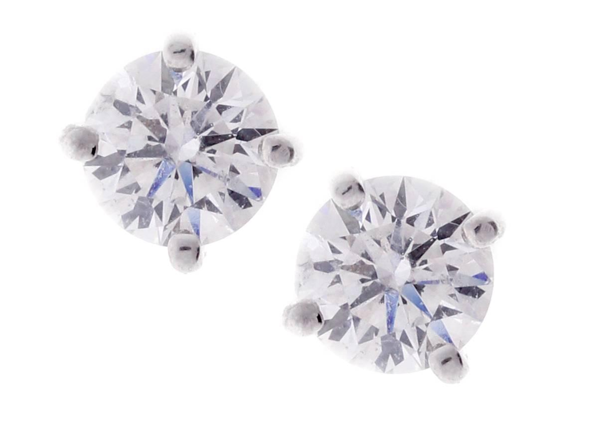 1 carat stud earrings sale and co 1 82 carat stud earrings for sale 4902