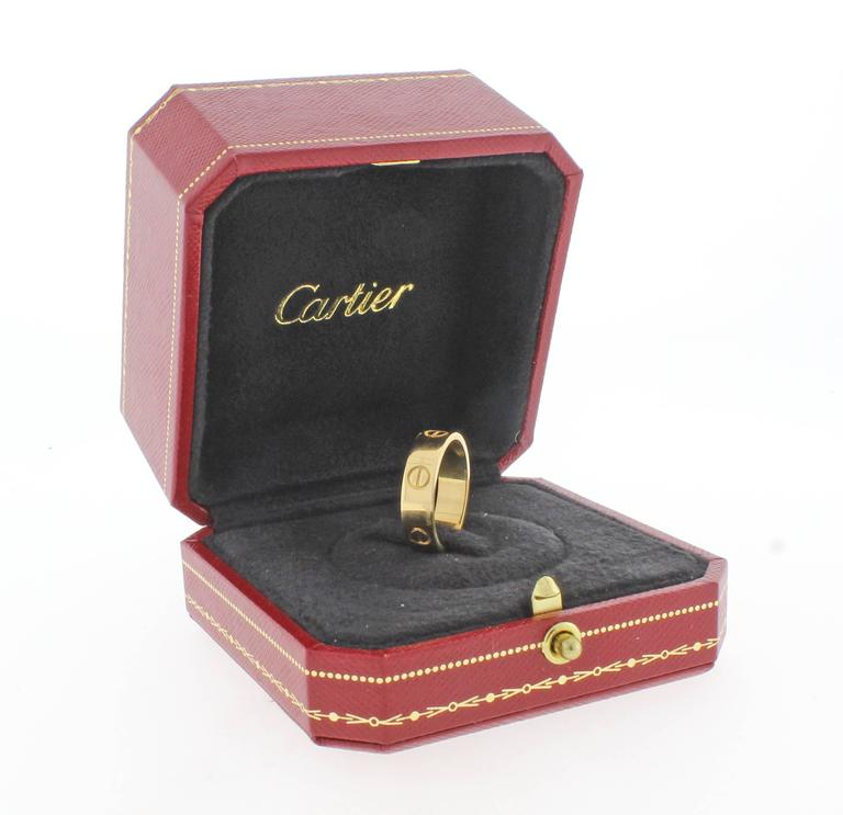 Cartier Love Ring 3
