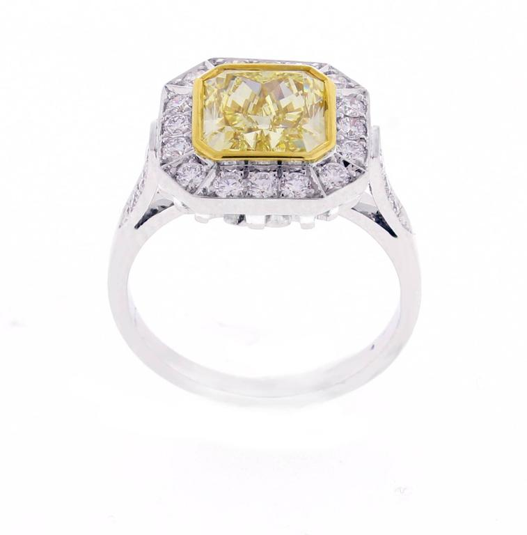 Canary Yellow Diamond Rings For Sale