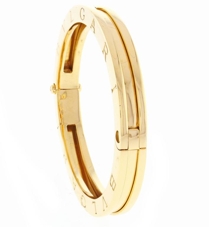 d80da170c Bulgari Bvlgari B.Zero1 Bangle Bracelet. In Excellent Condition For Sale In  Bethesda,