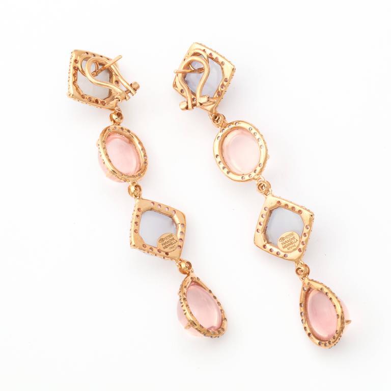 Faraone Mennella Quisisana Rose Gold Earrings 2