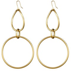Faraone Mennella Large Gold Stella Earrings