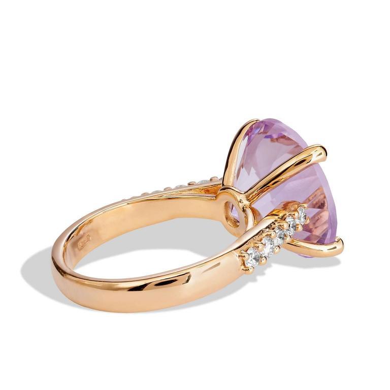 beautiful amethyst gold ring at 1stdibs