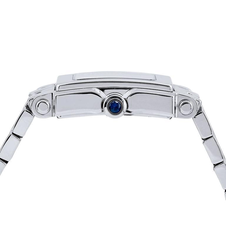 Women's Chopard Ladies Stainless Steel Happy Sport Quartz Wristwatch For Sale