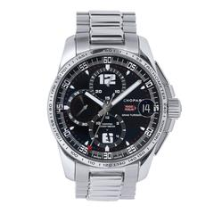 Chopard Stainless Steel Montre Mille Gran Turismo Chrono Wristwatch