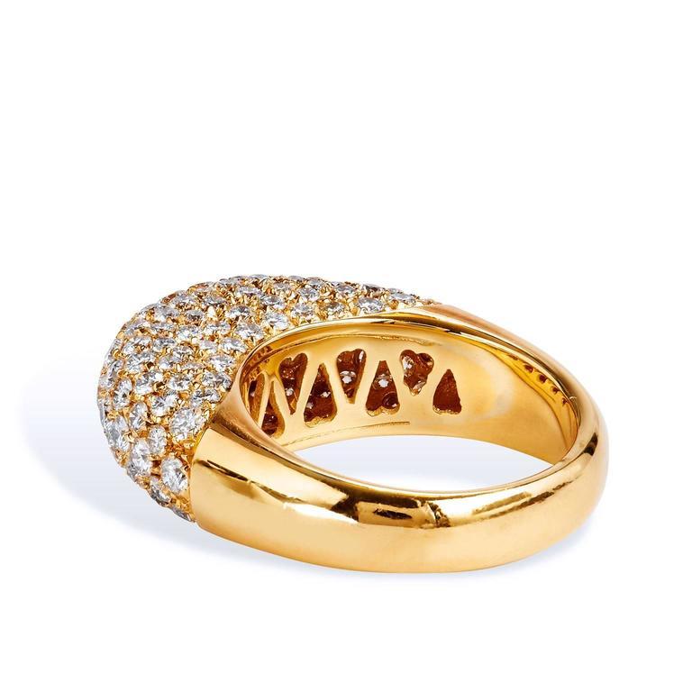 Carat Diamond Ring Pave Dome