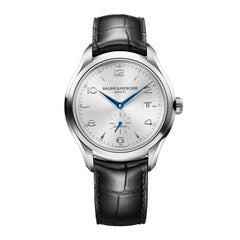Baume & Mercier Stainless steel Clifton Analog Wristwatch