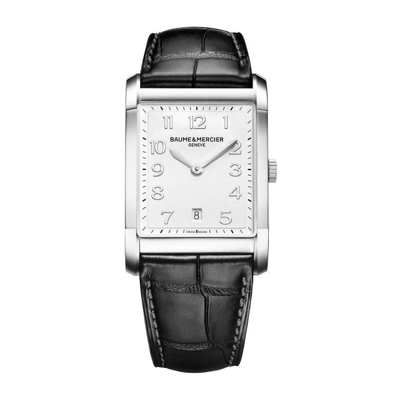 Baume & Mercier Stainless steel Analog Wristwatch