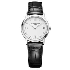 Baume & Mercier rose gold plate Stainless Steel Analog Wristwatch