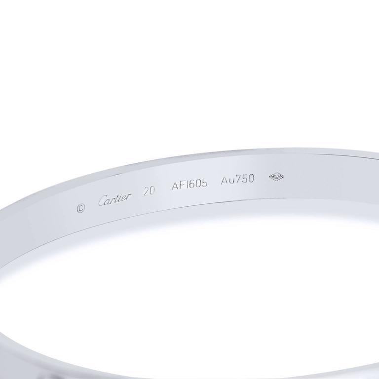 Cartier LOVE Bangle Bracelet 3
