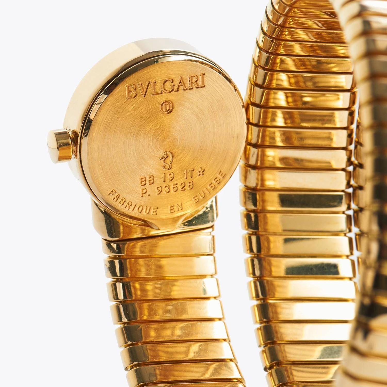 bvlgari tubogas 18kt yellow gold at 1stdibs