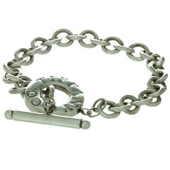 Tiffany & Co. Sterling Silver Toggle Clasp Bracelet