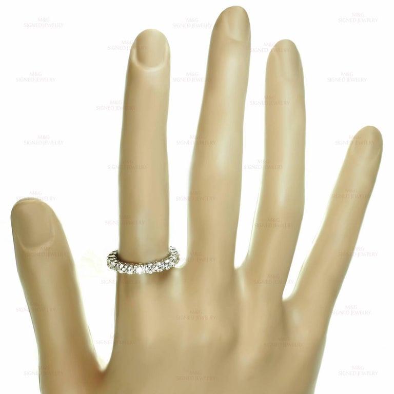 Tiffany & Co. Embrace Diamond Platinum Band Ring 3
