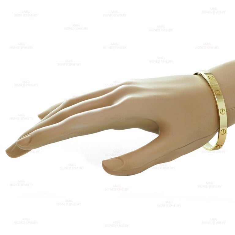 Cartier Love Yellow Gold Bracelet 4