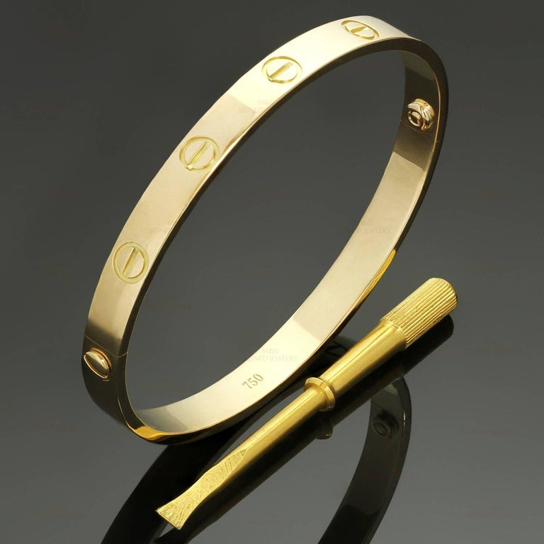 Cartier Love Yellow Gold Bracelet 2