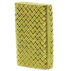 Van Cleef & Arpels Vintage Yellow Gold Pill Box