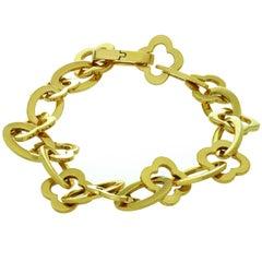 Van Cleef & Arpels Byzantine Alhambra Yellow Gold Bracelet